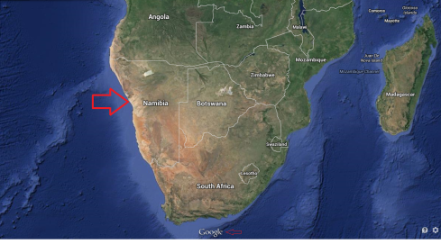 WHERE IS NAMIBIA?