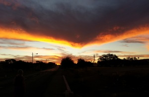 Luderitz Sunset in Keetmanshoop