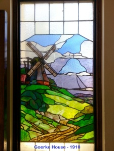 Goerke House windmill window