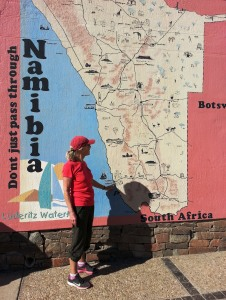 In Luderitz too