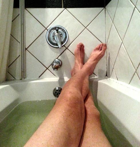 first real bath