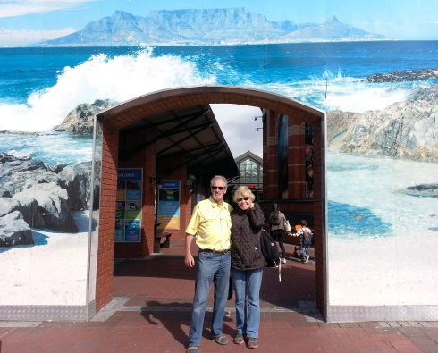 Steve and Barbara Cape Town