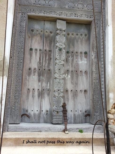 13 old door