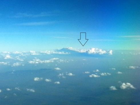 2 Kilimanjaro fly by