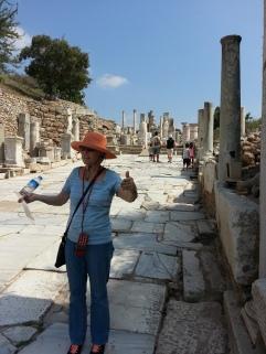 Barbara loved Ephesus!