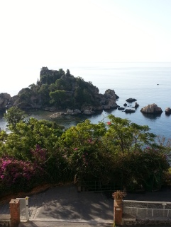 From our Hotel Isola Bella in Taormina