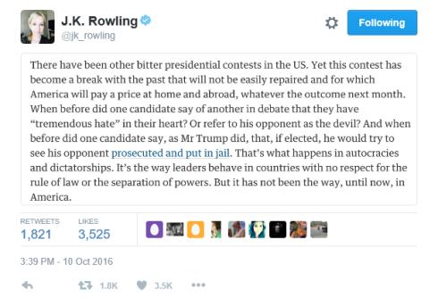 rowling-on-trump